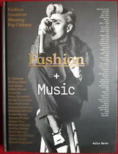 madonna livre fashion + music. ANGLETERRE.