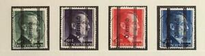 AUSTRIA 1945 RARE Cpl XF Sign High Values Hitler Provisonal Set LOOK, Österreich