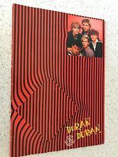 More details for duran duran - uk tour december 1981 - rare original uk tour book / programme