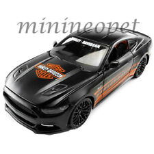MAISTO 32188 HARLEY DAVIDSON 2015 FORD MUSTANG GT COUPE 1/24 DIECAST MATTE BLACK