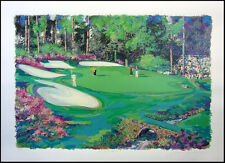 "Steve Bloom ""Amen Corner At Augusta"" golf Hand Signed Numbered Art Make an Offer"