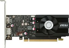 MSI Graphic Cards GT 1030 2G LP OC, Low Profile Graphics Card