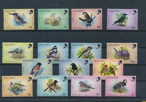 LO44489 Lesotho animals fauna flora birds fine lot MNH