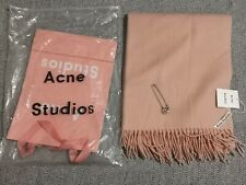 Acne Studios light pink Canada Scarf Oversize 200×70cm New With Tags 100% Wool