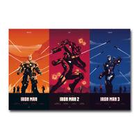 Black Panther 2018 Movie Art Silk Canvas Poster 12x21 24x43 inch