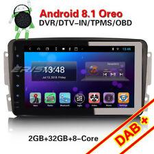 "8"" Android 8.1 Autoradio Mercedes C/G/CLK Klasse W203 W209 Viano Vito W639 Navi"