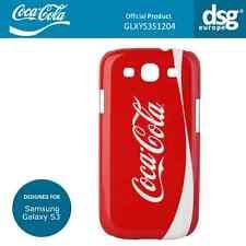 Coca-Cola Original Brand Logo Case Shell Cover for Samsung Galaxy S3 (i9300)