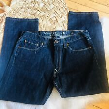 Levi's capital e Hesher Regular Denim Jean recto hecho en EE. UU. Talla 36 agotado