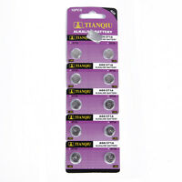 30 pcs TIANQIU AG6 371A 371 370 SR69 LR920 SR920 SR920SW Alkaline Watch Battery