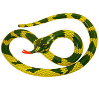 230CM INFLATABLE SNAKE JUNGLE FANCY DRESS ACCESSORY BLOW UP PARTY BAG FILLER