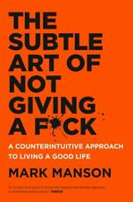 PDF Book for PC,MAC,IPAD: The Subtle Art of Not Giving a Fck by Mark Manson 2016