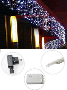 Tenda luminosa di natale led esterno luci natalizie 180 e 280 led 2 e 3 metri