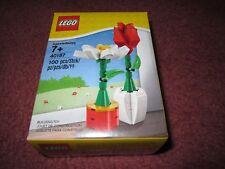 LEGO ROSE & DAISY FLOWERS 40187 - NEW/BOXED/SEALED