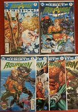 Aquaman Lot Rebirth 2016 #1, #1-5 Dc Comics Abnett