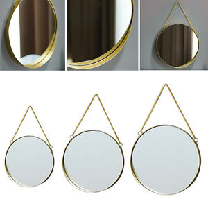 Hanging Wall Mirror for Home Decor in Living Room Bathroom Bedroom Entryway
