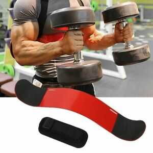 Adjustable Arm Blaster Bicep Curl Lifting Muscle Curl Bomber Training Gym Tricep