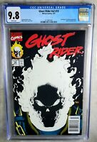 Ghost Rider #15 NEWSSTAND Glow Cover Marvel 1991 CGC 9.8 NM/MT WP Comic N0063