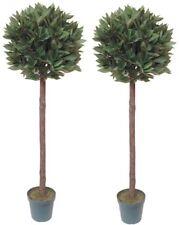 2 x Best Quality Artificial Bay Trees (Laurel) 4ft/120cm