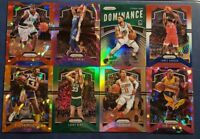 2019-20 Prizm Basketball Star Legend Red White Blue Green Silver Ice Etc U Pick
