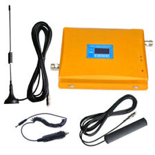 LCD 850/2100MHz Dual Band Cell Phone Signal Boosters cdma 3G Repeater For Car