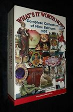 What's it Worth Now: Complete Collection of Nine Editions 2007