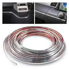 Car Styling Chrome Strips Decoration Trim Cover DIY Auto Body Sticker Bumper 6mm