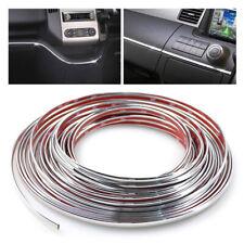 Car Styling Chrome Strips Decoration Trim Cover DIY Auto Body Sticker Bumper 6mm