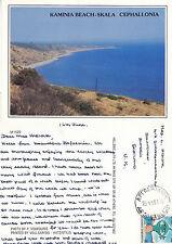 1991 Kaminia Beach Skala Cephalonia Greece Colour Postcard