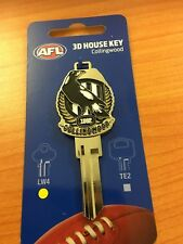 AFL Collingwood Magpies 3D House Key LW4/C4 Blank