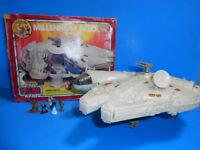 Star Wars 1982 Vintage Toltoys Australian Micro Millennium Falcon Vehicle ~ Rare