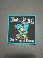 Judas Priest Sad Wings Of Destiny Patch T-shirt, Iron on Clothing Woven Badge