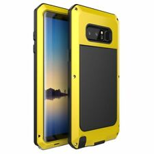 Shockproof Heavy Duty Metal Armor Case For Samsung Galaxy Note 8/S8+/S7/S6 Edge