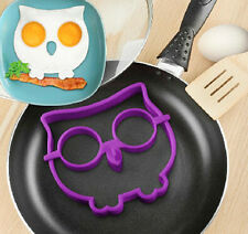 Owl Egg Silicone Shape Egg Maker Fried Eggs Kitchen Fun Kids Party Mould Animal