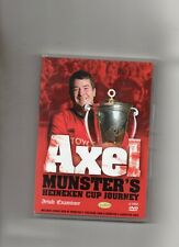 MUNSTER RUGBY DVD - AXEL FOLEY'S HEINEKEN CUP JOURNEY - IRELAND
