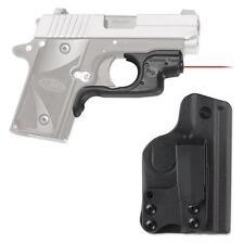 New Crimson Trace Laserguard Laser Sight For Sig Sauer P238 & P938 LG-492-HBT