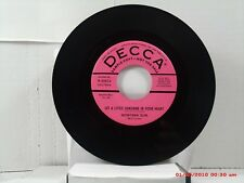 MONTANA SLIM-(45)-LET A LITTLE SUNSHINE IN YOUR HEART/X'S FROM DOWN IN TEXAS1955