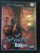 WWF - Judgment Day 2001 (DVD, 2001) WWE RARE