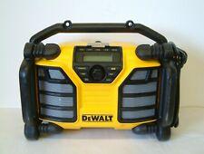 DeWALT DCR017  XR AC/DC DAB Jobsite Radio Charger 240v or 10.8v-18v Batteries