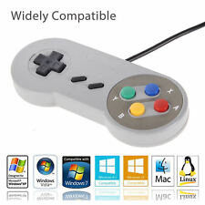 USB Game Controller for Super Nintendo SNES Retro Classic Gamepad Joystick