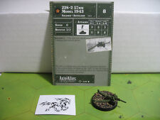 Axis & Allies Set 2 II ZIS-2 57mm Model 1943 with card 14/45