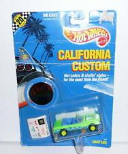 Hot Wheels California Custom FORD CONVERTIBLE MUSTANG #1241 *MOC 1989 Malaysia