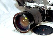 Vivitar Series 1 28-105mm f2.8~3.8 Macro 1:6.8x Lens for Canon AE-1 FD push pull