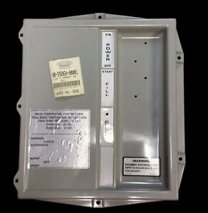 Hobart AM-12 Control Box Cover #292024-0001 New Old Stock
