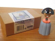 ALESSI *NEW* Bouchon résine Anna Stop bleu et chrome, 4,2x2,8cm h.10cm AM05AZ