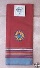 Sun Tea Towel Kay Dee Embroidered Sun Pattern