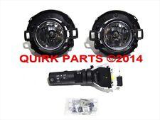 2010-2015 Nissan Xterra Frontier Fog Light Lamp & Switch Kit Set OEM NEW Genuine