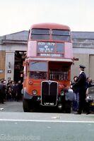 London Transport RT Finale Day LYF190 7th April 1979 Bus Photo