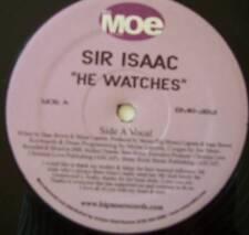 "SIR ISAAC ~ He Watches ~ 12"" Single USA PRESS"