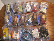 Burger King Kid's Meal Toys - Set of 17 Complete the Saga - Star Wars 2005