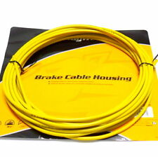 Jagwire 25 feet 5mm Brake Cable Housing with Lubricated inner Tube, Yellow, E98